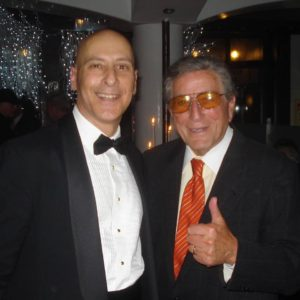 Frankie Sands and Tony Bennett